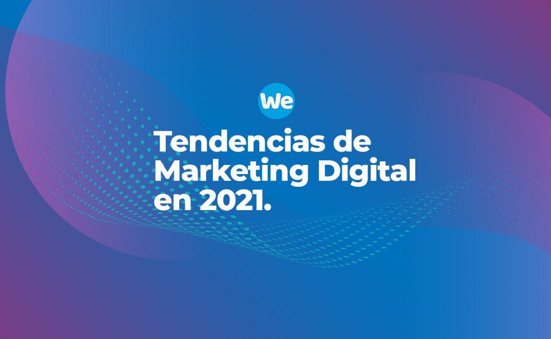 4 tendencias de marketing para 2021: redes sociales