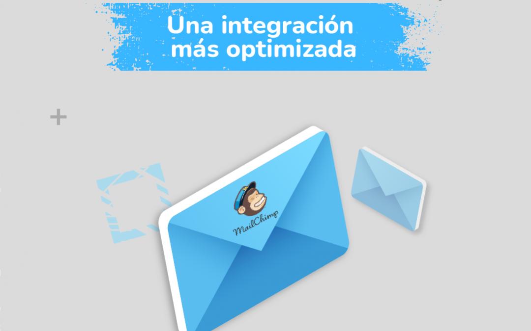 Wembii con la plataforma más grande de email-marketing, Mailchimp